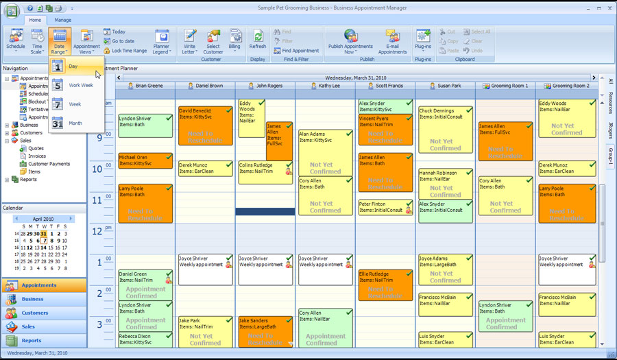 Appointment Scheduling Software  Business Appointment Manager