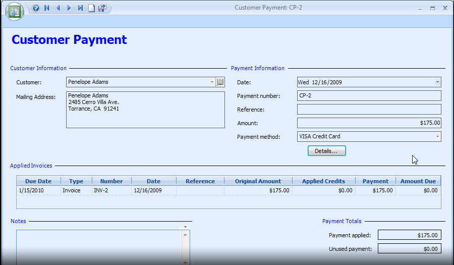 Appointment Scheduling Software - payment