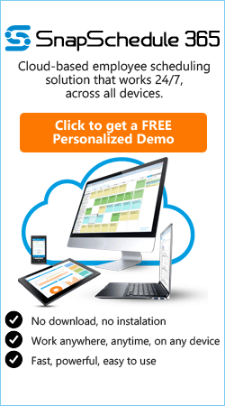Online Employee Scheduling Software Free Demo
